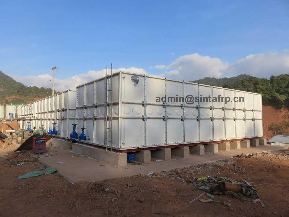 Grp Frp Water Tank Fiberglass Water Tank Septic Tank Water