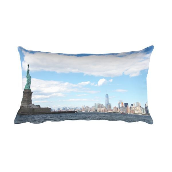 NYC Skyline Pillow This pillow is comfortable to hold, and it's the perfect accent piece for any space....