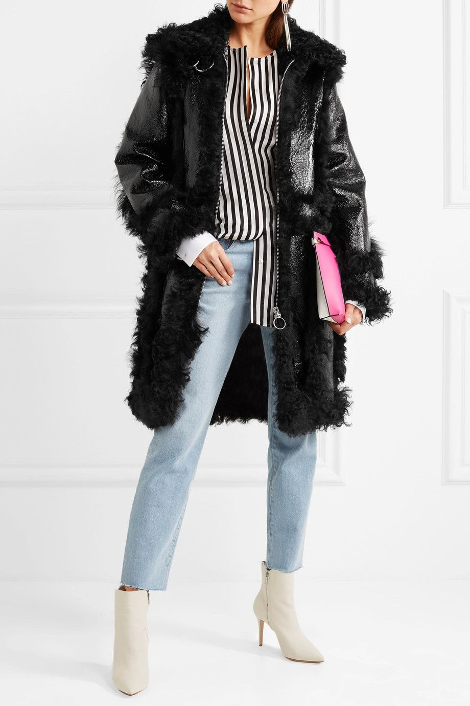 21 Winter Outfits With Patent Leather Coats forecasting