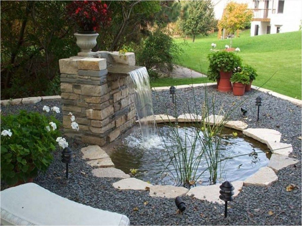 43 Fresh Stunning Indoor Fish Ponds with Waterfall Ideas ... on Small Backyard Pond With Waterfall  id=85938