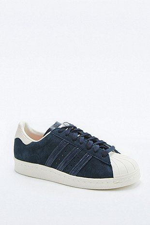 08ffba068f5 adidas Originals - Baskets Superstar en daim bleu marine