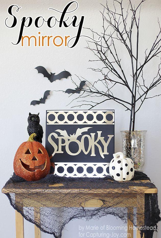 Halloween Spooky Mirror Halloween Pinterest Halloween