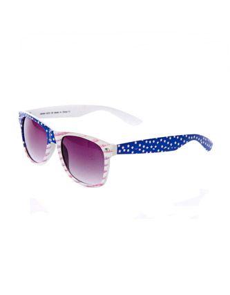 Soul Cal Deluxe Stars   Stripes Wayfarer Sunglasses  c6900583c2
