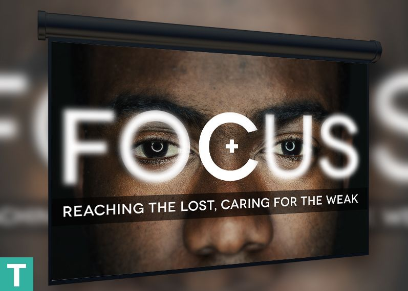 Focus Church Slide Template Is For Sermon Series Stus New Years Planning Meetings And Conventions Dealing With The Direction