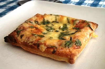 Beyond The Bathroom Scale : Quick and Simple Cheese, Tomato & Mixed Leaf Tart