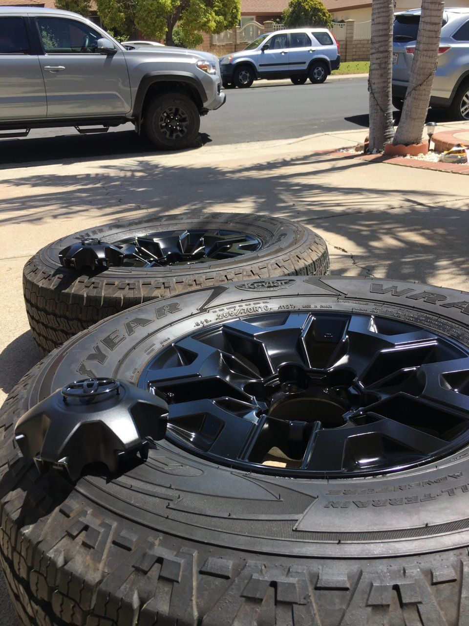 Stepbystep TRD wheel paint project in 2020