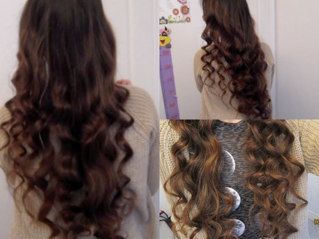 How To Get Curly Hair Without Heat Or Products