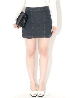Today's Hot Pick :ハイウエストデニムミニスカート【BLUEPOPS】 http://fashionstylep.com/SFSELFAA0006567/bluepopsjp/out [顧客モデルコメント] 裾スリット入りで動きやすいデザイン♪ 縦ラインスティッチデザインが脚を細く見せます。 ウエストは余裕のあるデザインなので履き心地もGOOD! ミニスカートだけど着てみるとそこまでミニ丈が気になりません。 若干ビンテージ風カラーなので色んなコーデと合わせられます。 評価 ★★★★★