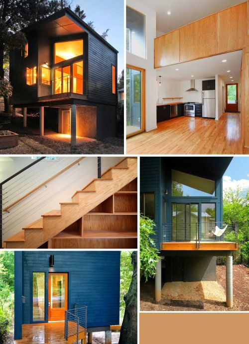 Blue House Comp Modern Asheville Ashevillegrit Home Rusafova