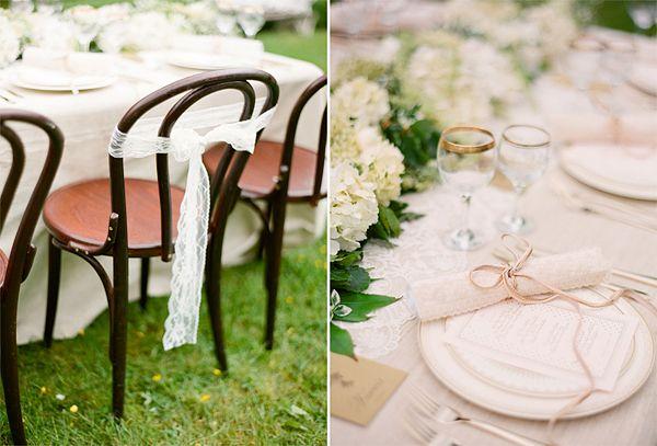 Stuhl Deko Hochzeit stuhldeko spitzenband tischdeko hochzeit
