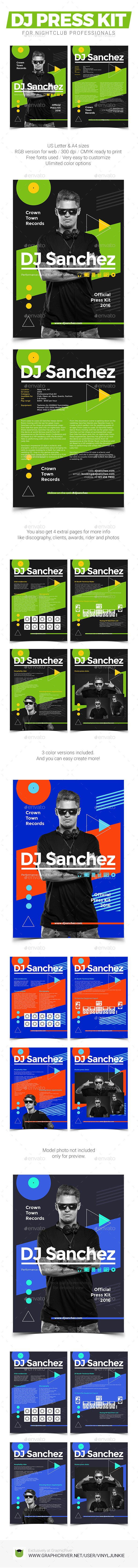 prodj dj press kit rider resume psd template press kit prodj dj press kit rider resume psd template djpresskit psd