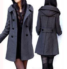 womens winter jackets | Styl | Pinterest | Hooded coats, Winter ...