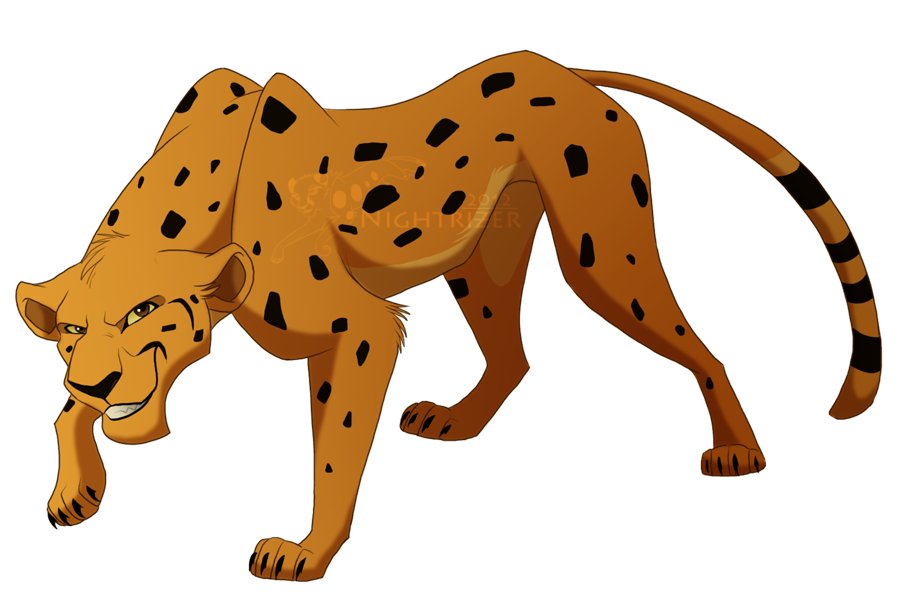 Tlk Cheetah By Nightrizer Deviantart Com On Deviantart Big Cats Art Animal Drawings Cat Drawing