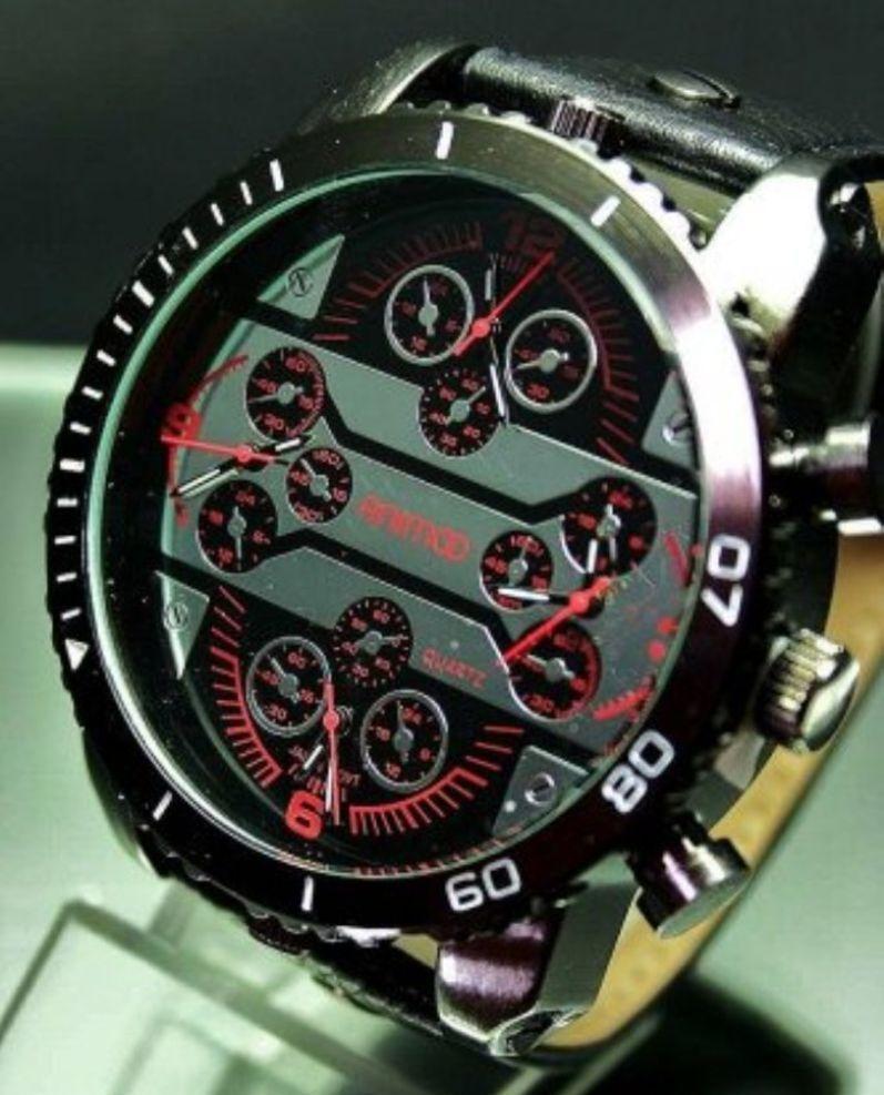 Animoo Fourtime Armbanduhr 4 Schwere Uhrwerken Mit Herrenuhr wZlOXiPukT