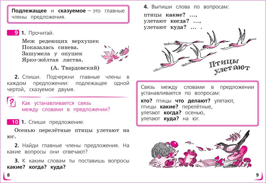 Спиши ру по русскому языку 4 класс полякова