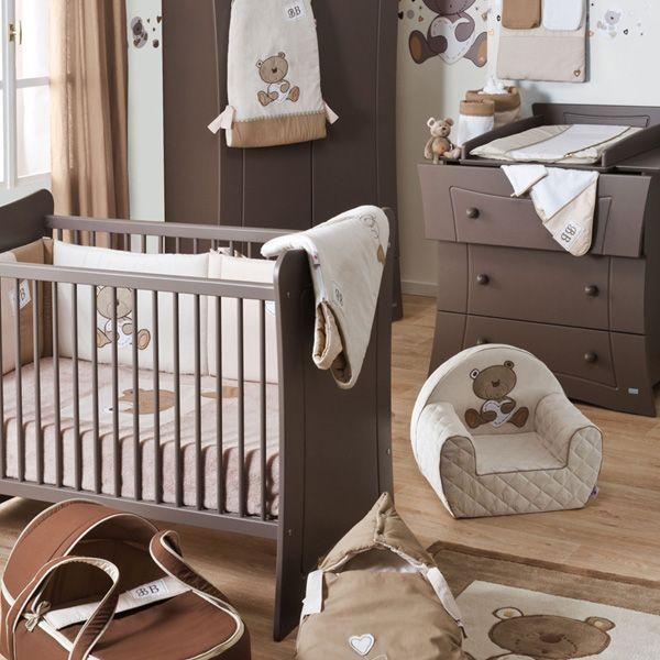 Collection BB tradition de Candide pour une chambre bébé thème ours ...