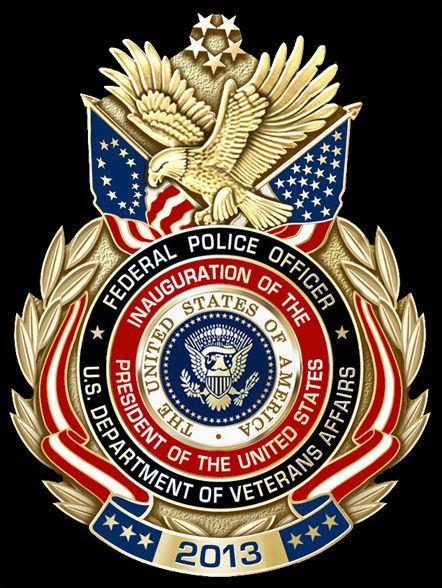 States Veterans Affairs Police 57th Presidential Inauguration Badge