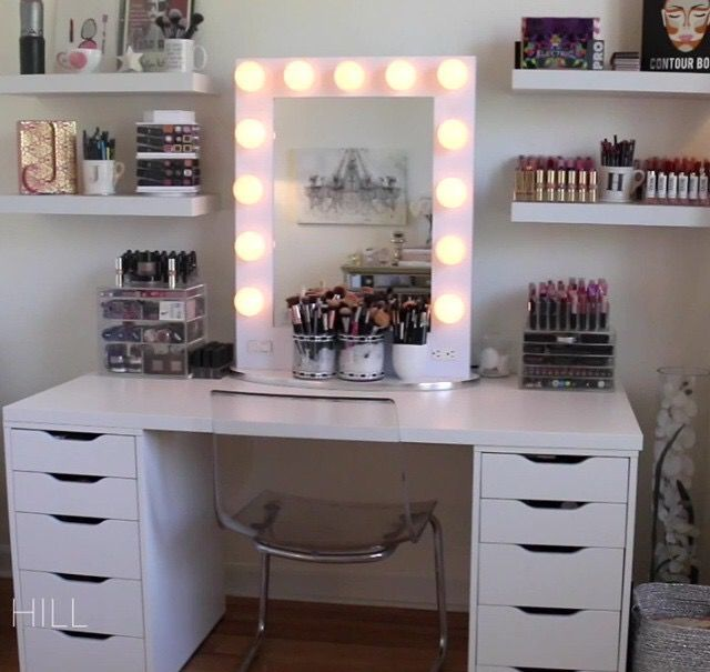 Pin By Hasna Mh On Dresser Beauty Room Vanity Vanity Set Ikea Beauty Room