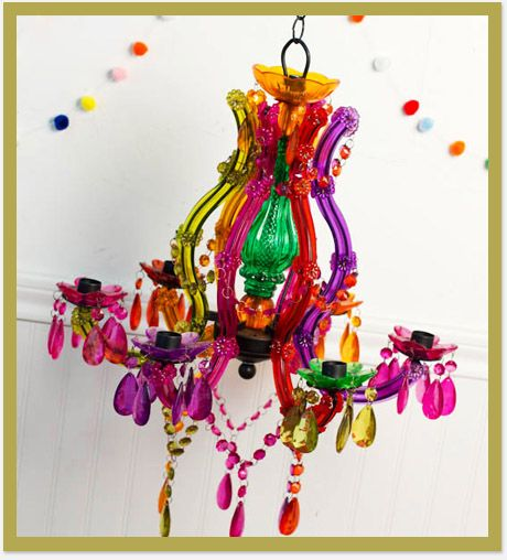 Funky vibrant chandelier from earthbound trading home funky chandelier from earthbound trading co one of my favorite stores aloadofball Choice Image