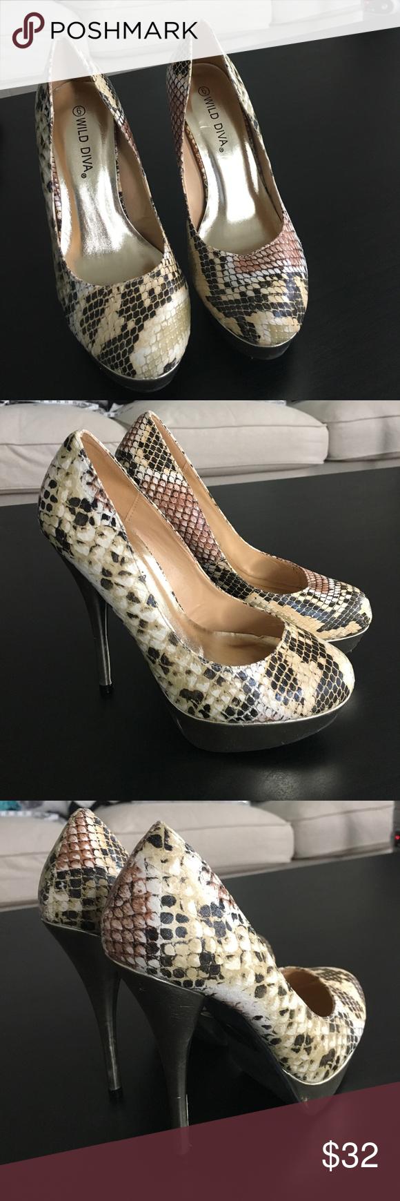 Wild diva heels 6 New Wild Diva Shoes Platforms