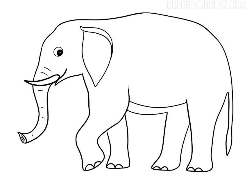Free Printable Elephant Coloring Page Coloring Books In 2021 Elephant Coloring Page Coloring Pages Coloring Books