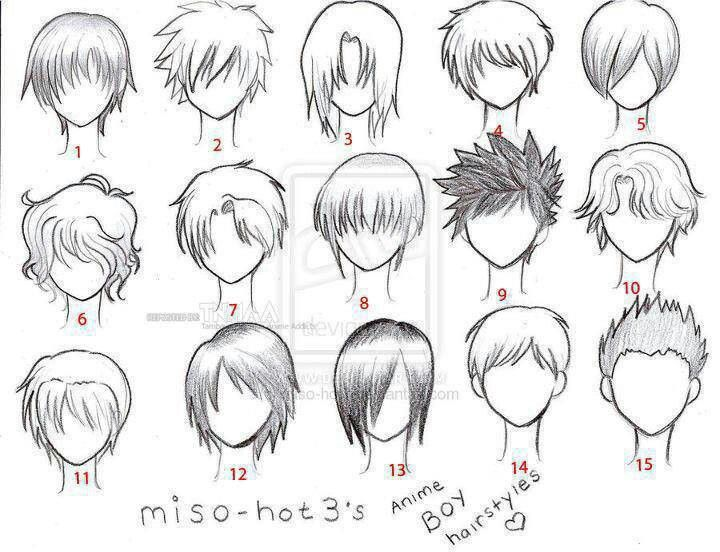 How to draw anime hair for anime boy hairstyles by must remember this boys hair is difficult for me to draw