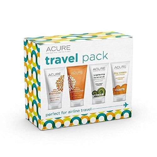 Acure Essentials Travel Size Kit, Shampoo, Conditioner