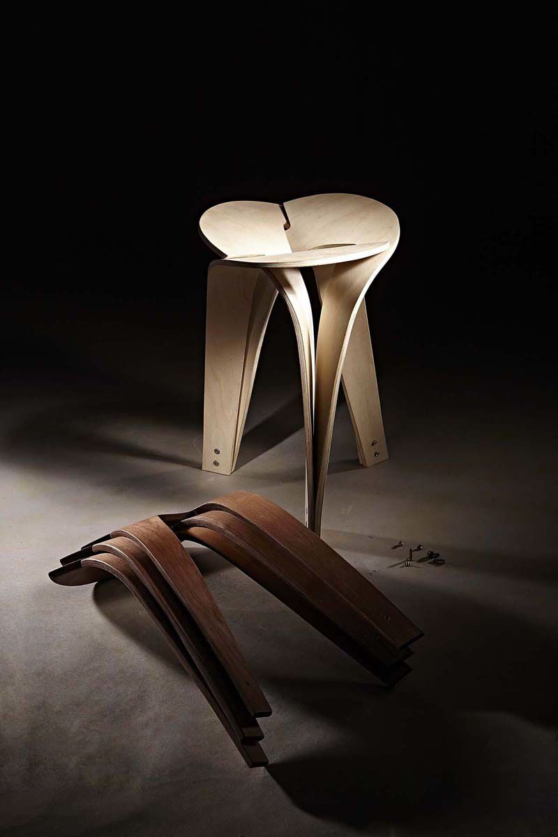 N³ Stool By: Chen Kuan Cheng