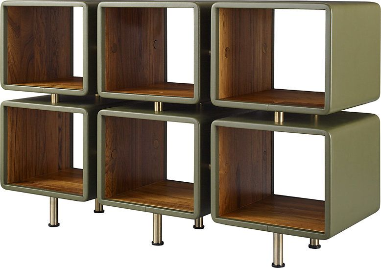 Jamie Durie S Own Sri Lankan Heritage Inspired A Revival Of The Island S Mid 20th Century Movement For This Jet Open Shelving Units Shelving Unit Open Shelving