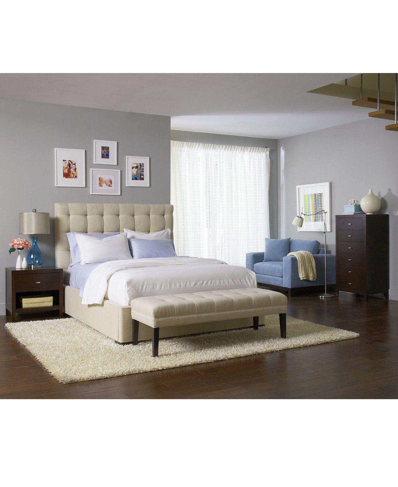 Abby Queen Bed Beds & Headboards Furniture Macy's
