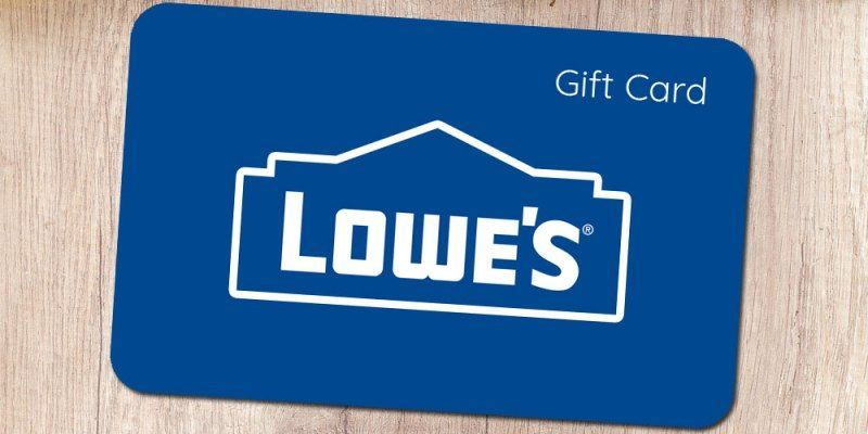 Photo of Lowe's Gift Card  #giftcard #promocode