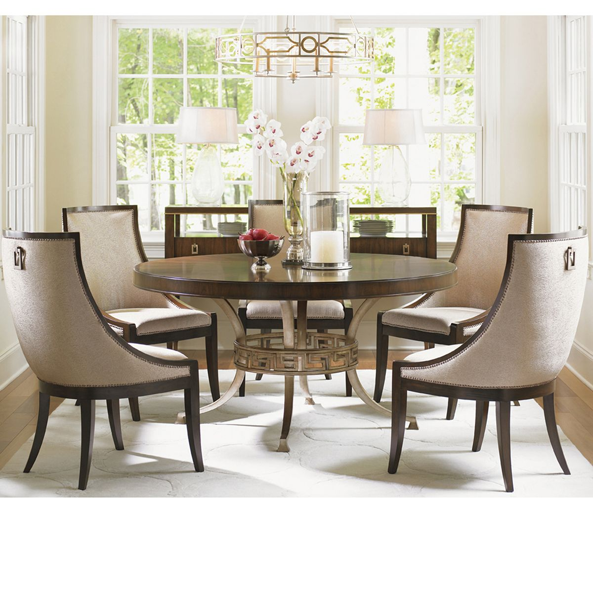 Lexington Tower Place Talbott Upholstered Host Chair Set Of 2 706 884 01