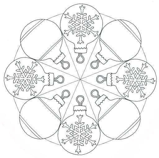 Christmas Mandala Coloring Page For Kids 1 Crafts And Worksheets For Preschool Toddler An Christmas Mandala Mandala Coloring Pages Christmas Coloring Pages