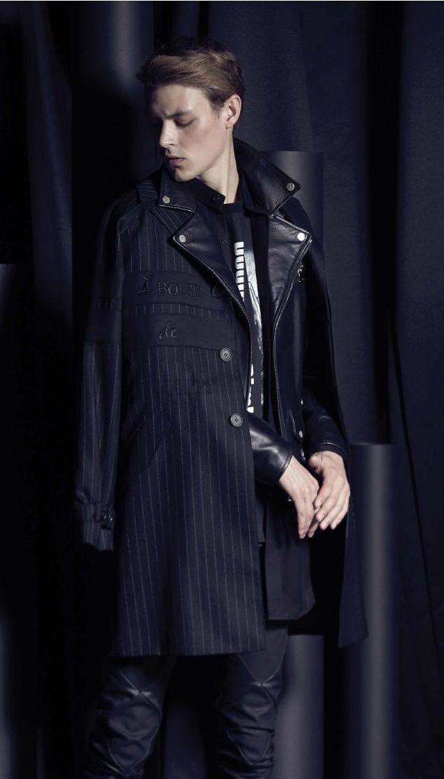 NOIR LARMES  Fall Winter 2015 Otoño Invierno #Menswear #Trends #Tendencias #Moda Hombre