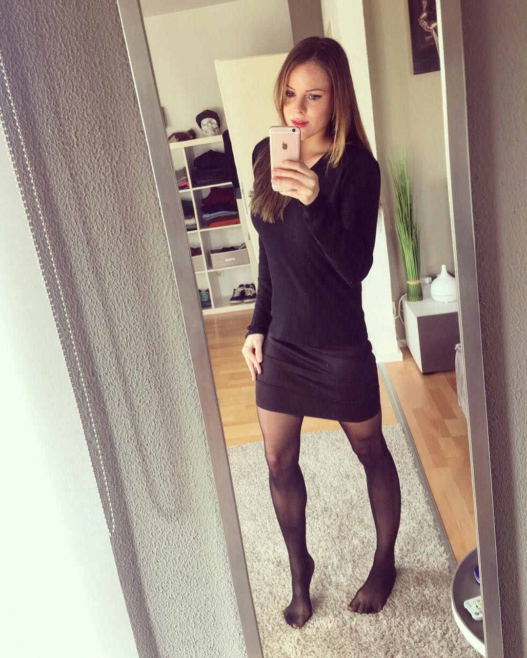 Autumn pantyhose amatuer