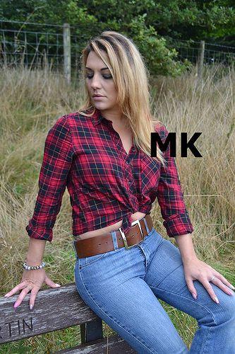 belts. Ladies jeans