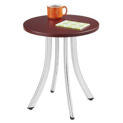 Safco Products Decori Wood End Table Finish: Mahogany