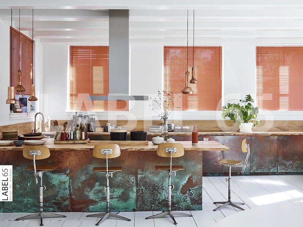 Jaloezieen keuken zeer voordelig verano kunstof lamellen mm met