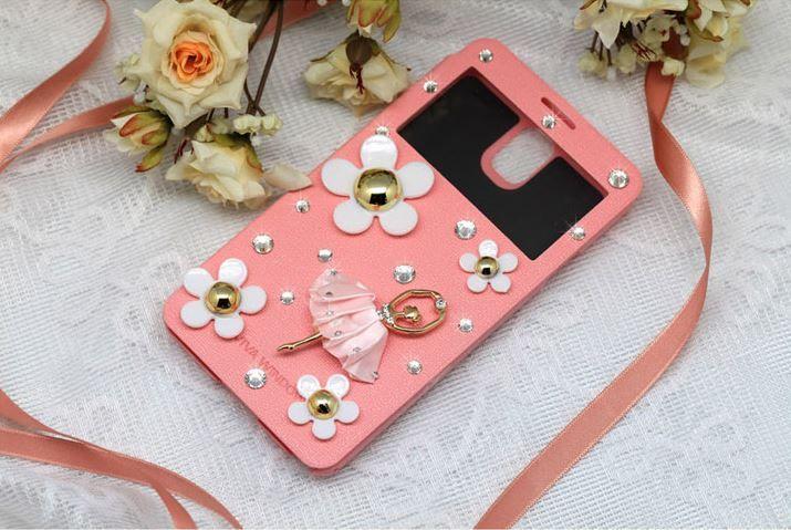 Lumiel   Daisy Ballerina View Flip Case for Galaxy Note 4