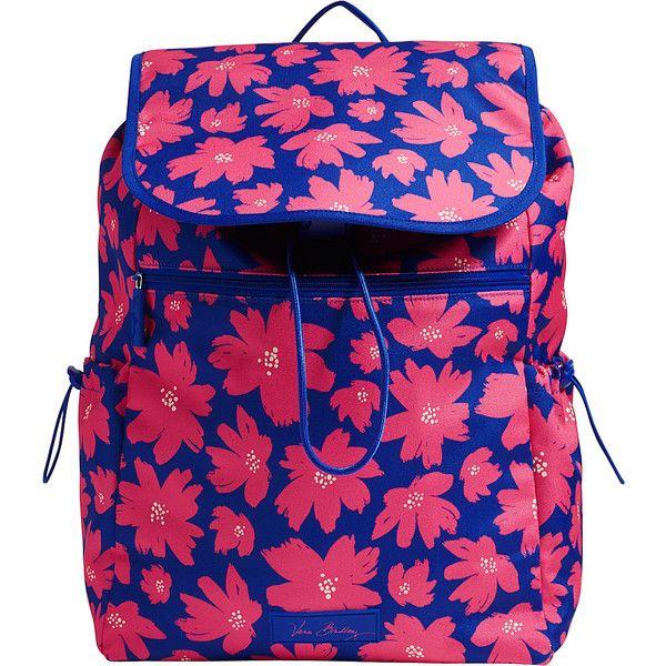 Vera Bradley Lighten Up Drawstring Backpack-Retired Prints - Art... ( 60) ❤  liked on Polyvore featuring bags, backpacks, pink, vera bradley bags, d… 2d648583b3