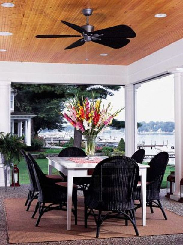 Easy Outdoor Room Idea Winds Of Change Create Cool Southern Charm
