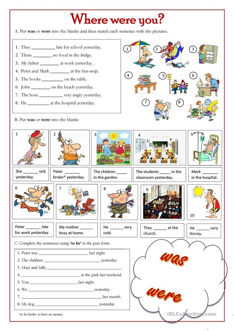 Where Were You Worksheet Free Esl Printable Worksheets Made By Teachers Activities English For Beginners English Activities [ 1079 x 763 Pixel ]