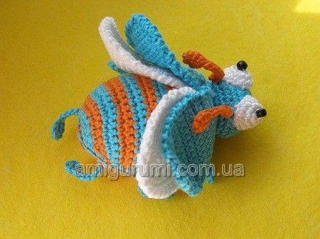Beetle, Free pattern. | CrochetHolic - HilariaFina | Pinterest ...