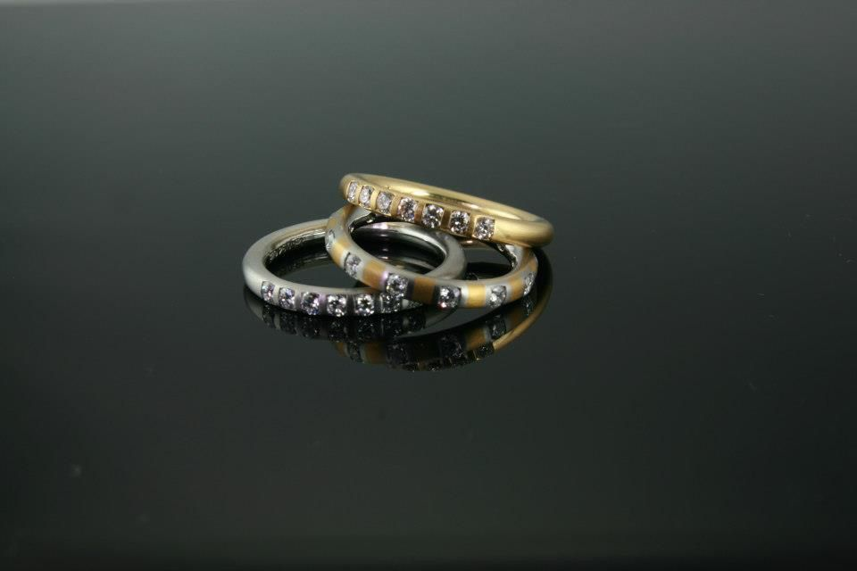 Compressed Gold Ring