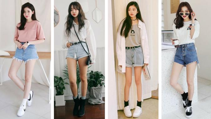 Mau Stylish Ala Cewek Korea Ini Daftar Model Baju Wanita Yang Populer Di Korea Styling Pod Mode Korea Model Pakaian Jalanan Korea Pakaian Kasual