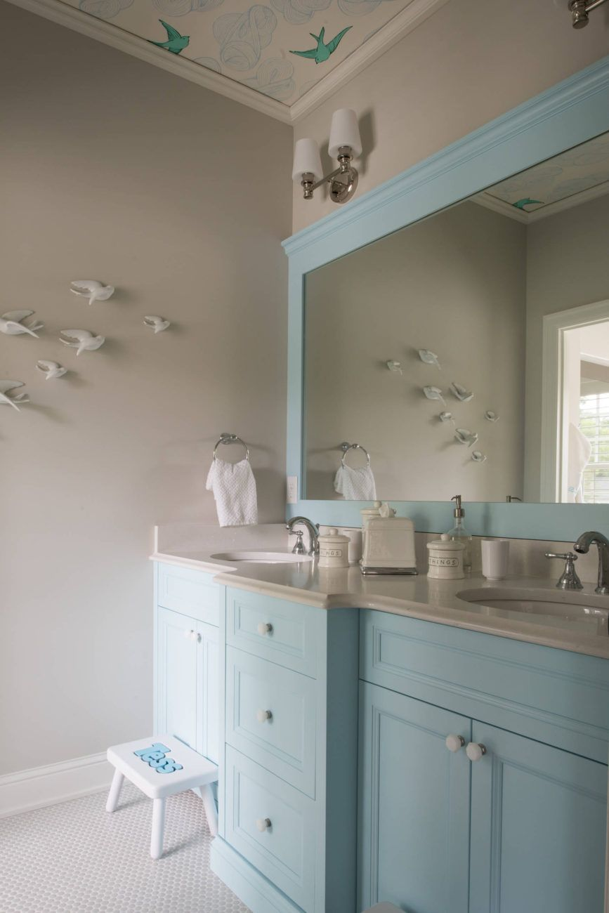 Studio M Interiors Guest Bathrooms Interior House Of Turquoise