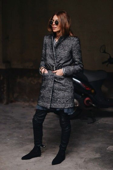 Belted Coat #style