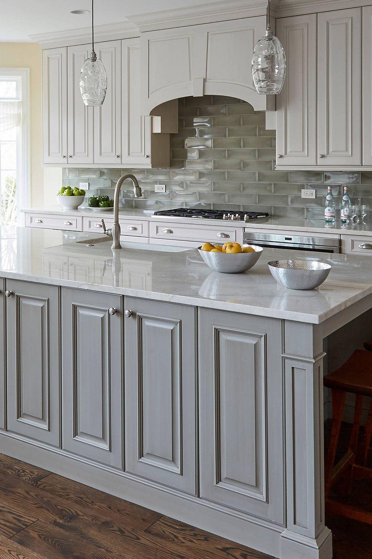 44 gray kitchen cabinets  dark or heavy    dark