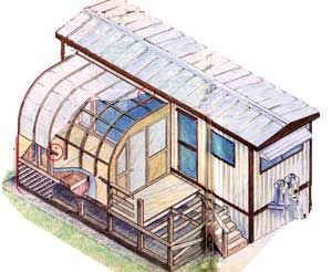 Convert A Mobile Home Into A Portable Greenhouse | MOTHER EARTH NEWS