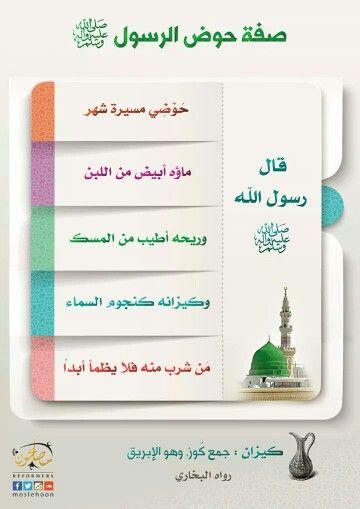 صفة حوض رسول الله صلى الله عليه وسلم Holy Quran Islam Place Card Holders
